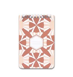 A5 spirale notebook - terra