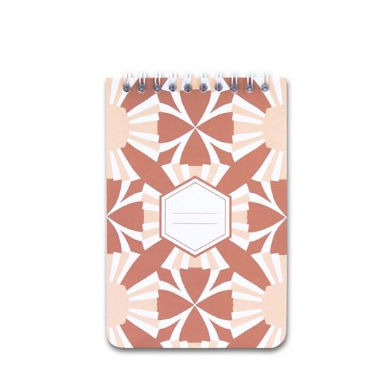 A5 spirale notebook - terra - Design : Coco Brun x Beauregard Studio