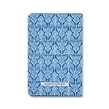 A5 notebook singer stitching - light blue  4