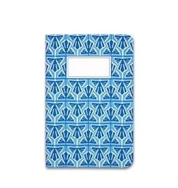 Carnet A5 relié couture - bleu clair
