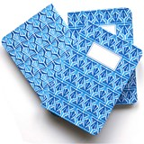 A5 notebook singer stitching - light blue  3