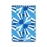 A5 spirale notebook - blue 3