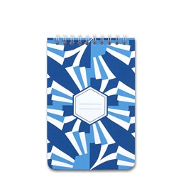 A5 spirale notebook - blue
