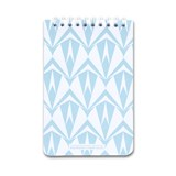 A5 spirale notebook - light blue 6