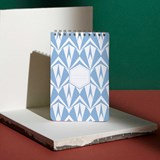 A5 spirale notebook - light blue 4
