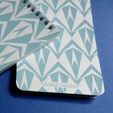 A5 spirale notebook - light blue 5