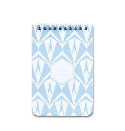 A5 spirale notebook - light blue