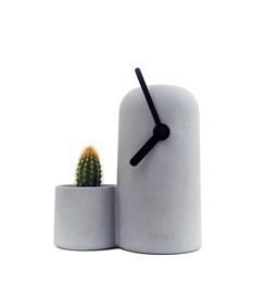 Horloge Silo - Aiguilles noires