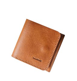 """1966"" Classic bifold leather wallet - tan"