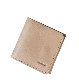 """1966"" Classic bifold leather wallet - latte"