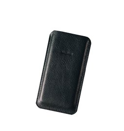 DANDY leather phone case - black