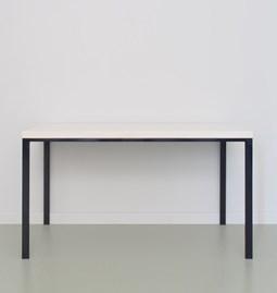 Table SIMPELVELD - bleu noir