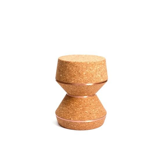 COLUM(N) 3.40 stool - copper - Design : Nova Obiecta