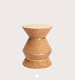 Tabouret COLUM(N) 3.21 - laiton