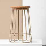 Tabouret de bar OCT(O) - beige 3