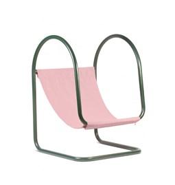 Fauteuil PARA(D) - rose/vert