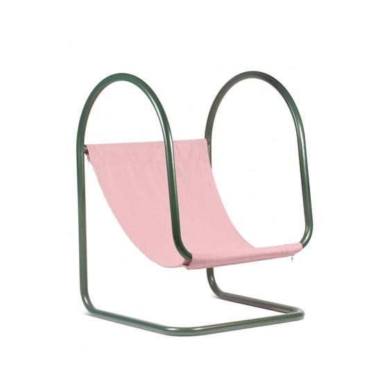 Fauteuil PARA(D) - rose/vert - Design : Nova Obiecta