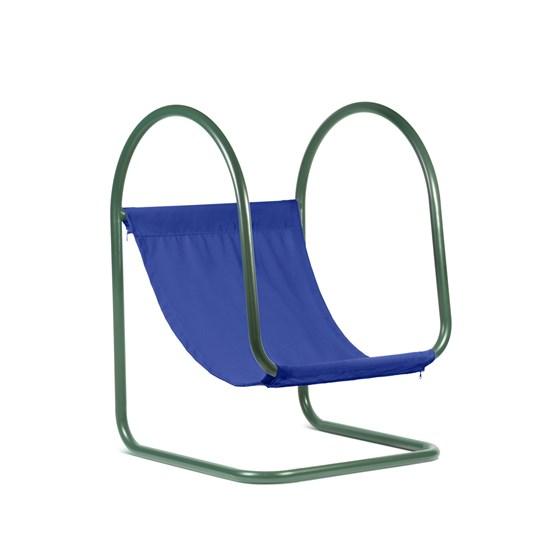 Fauteuil PARA(D) - bleu/vert  - Design : Nova Obiecta