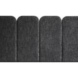 Headboard PAN – Grey Charcoal - Velvet Palma 6