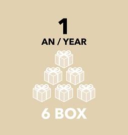 Subscription - 6 boxes