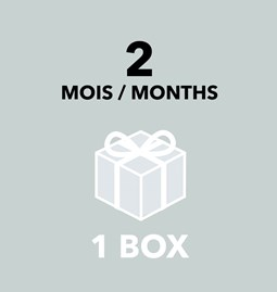 Gift Card - 2 months / 1 box