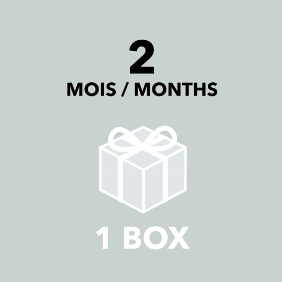 Gift Card - 2 months / 1 box - Design : DesignerBox