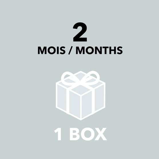 Gift Card - 2 months / 1 box - Design : Designerbox