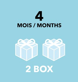 Gift Card - 4 months / 2 boxes