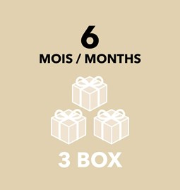 Gift Card - 6 months / 3 boxes