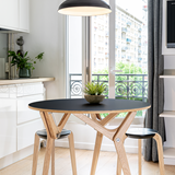 Transformable table Classic Black 4