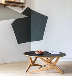 Table relevable CLASSIQUE - Noir Sidéral