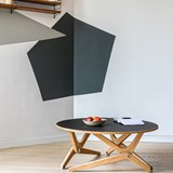 Transformable table Classic Black 2