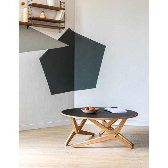 Transformable table Classic Black - Design : Boulon Blanc