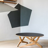 Transformable table Classic Black 7