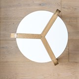 Tabouret empilable - Blanc 2