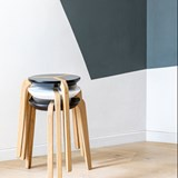 Tabouret empilable - Blanc 7