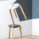 Tabouret empilable - Noir 2