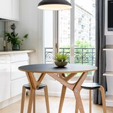Tabouret empilable - Noir 6
