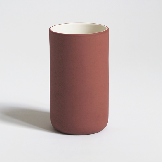 Mug 200 ml | terracotta - Design : Archive Studio