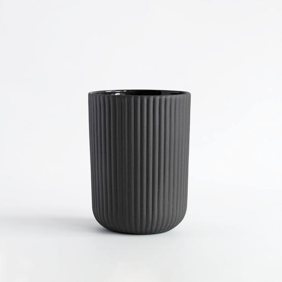Coffee cup |  150 ml  | dark grey - Design : Archive Studio