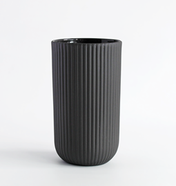 Set de 4 mugs | 220 ml | gris anthracite