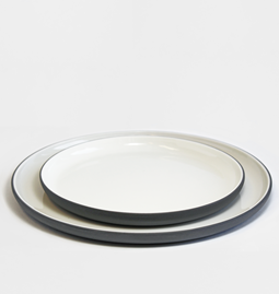 Dinner set | dark grey (8 items)