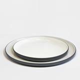 Set repas | gris anthracite (8 assiettes) 2