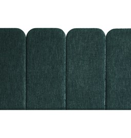 Headboard PAN – Green - Velvet Palma