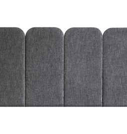 Headboard PAN – Grey - Velvet Palma