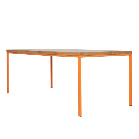 SIMPELVELD table - orange - Design : JOHANENLIES
