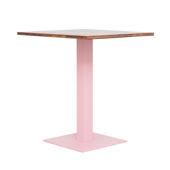 Bistro table LOUIS - pink  - Design : JOHANENLIES