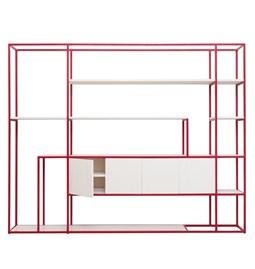 CELESTE Shelf - ruby red