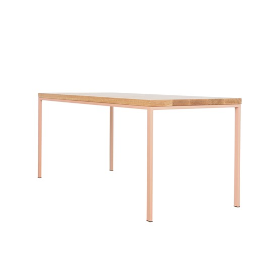 SIMPELVELD TABLE - BEIGE RED - Design : JOHANENLIES