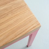 SIMPELVELD Bench - Pink 6